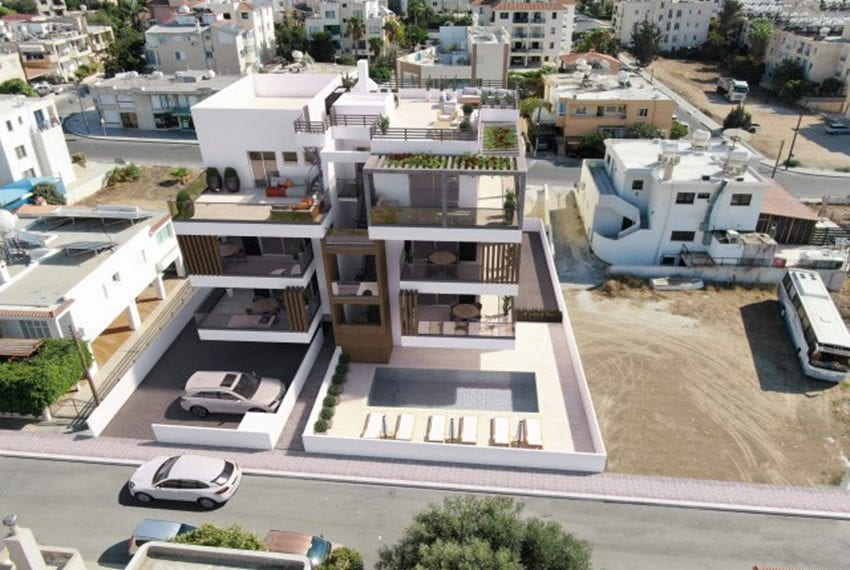 Modern apartments for sale near Pafos mall04