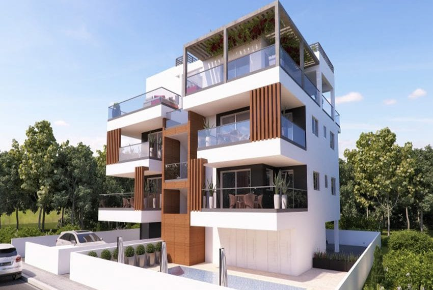 Modern apartments for sale near Pafos mall05