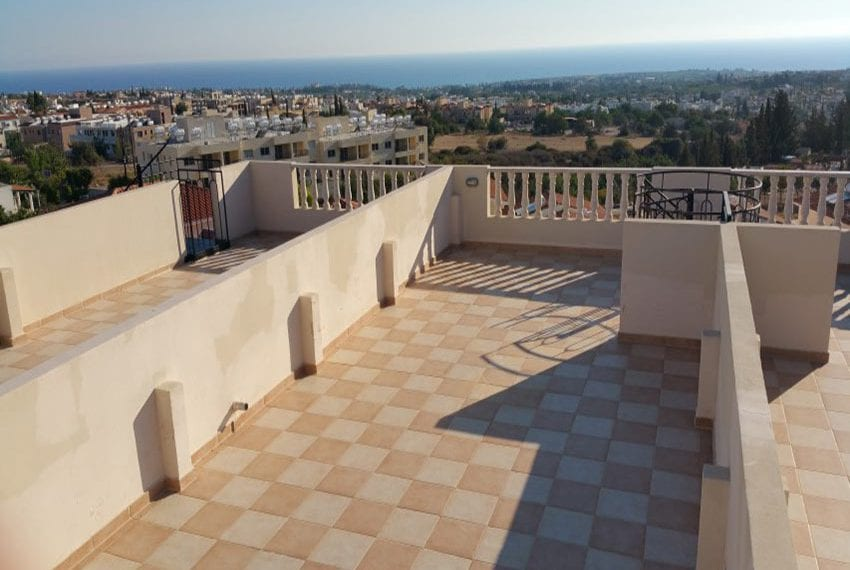 3 bed townhouse with sea views Peyia Cyprus16