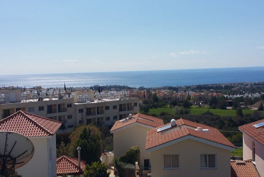 3 bed townhouse with sea views Peyia Cyprus18