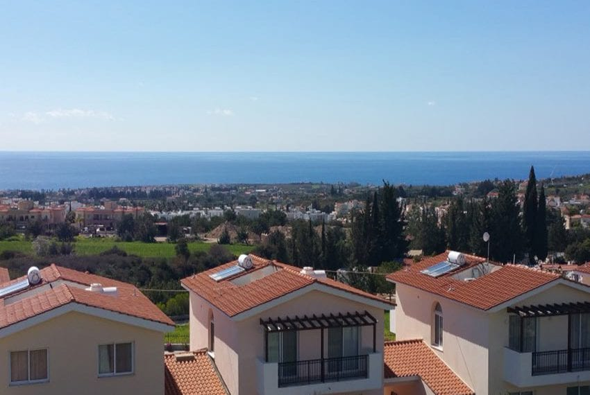 3 bed townhouse with sea views Peyia Cyprus19