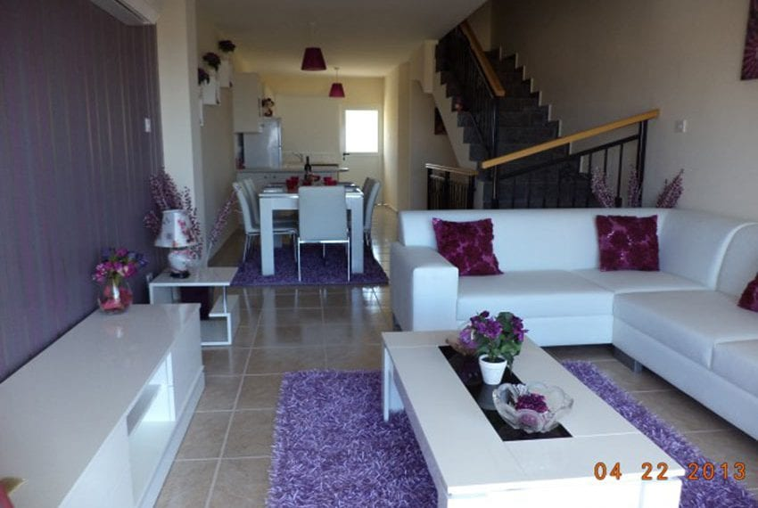 3 bed townhouse with sea views Peyia Cyprus26