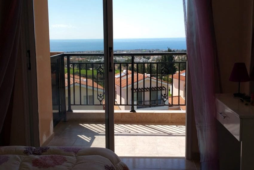 3 bed townhouse with sea views Peyia Cyprus36