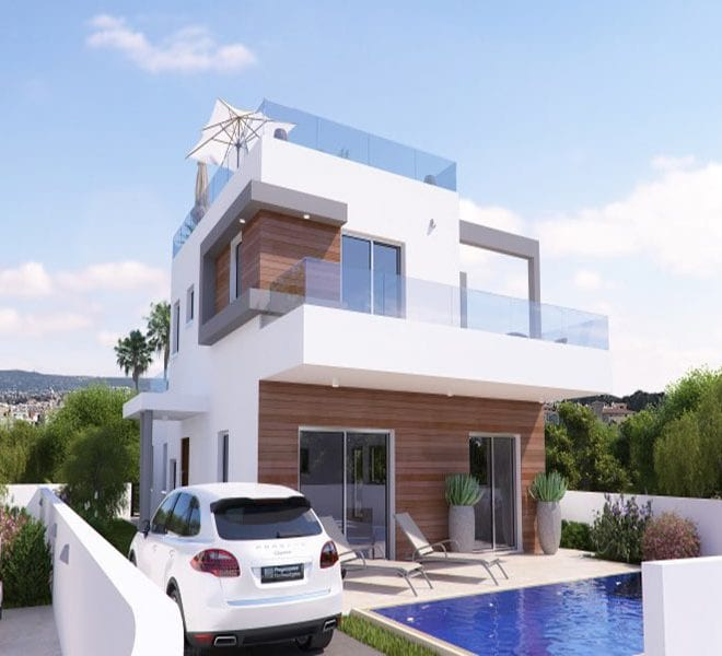 Downtown Pafos luxury villas for sale