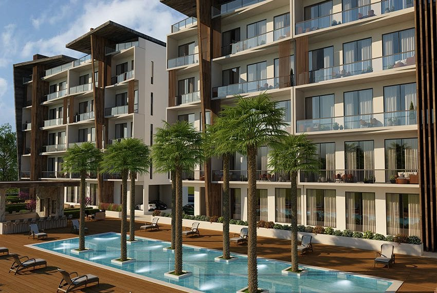 modern apartments for sale in Paphos Universal09