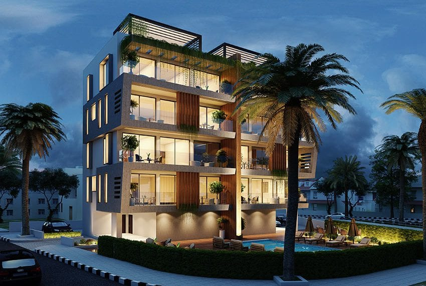 Beach front residential block of flats for sale Paphos03