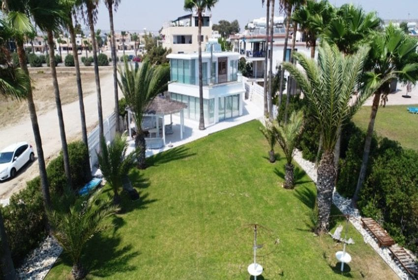 Beach front villa for sale in Cyprus, Larnaka