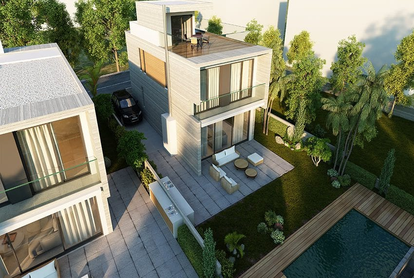 Bay view villas for sale in Pafos Cyprus08