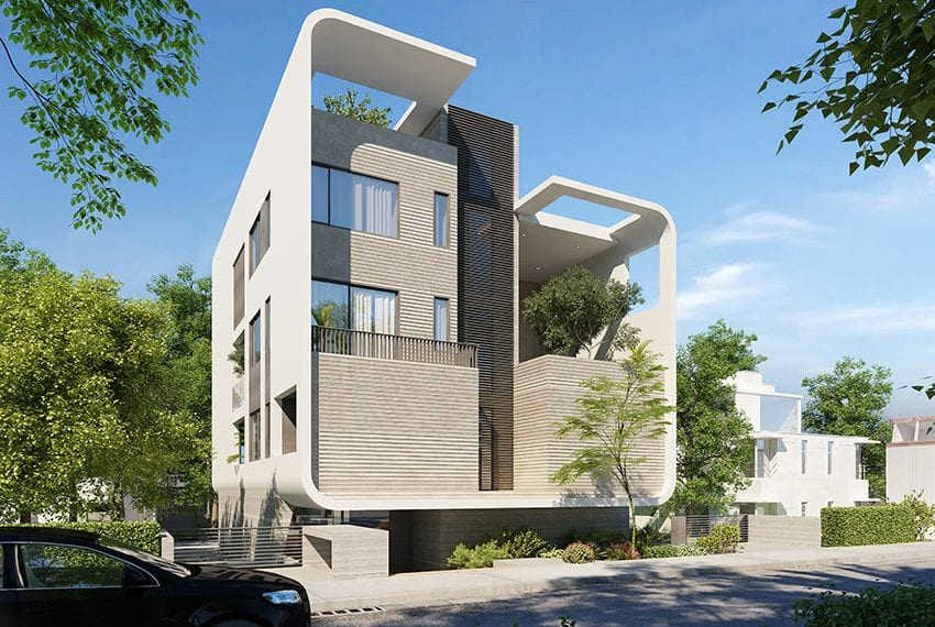 Cyprus investment program residential building for sale