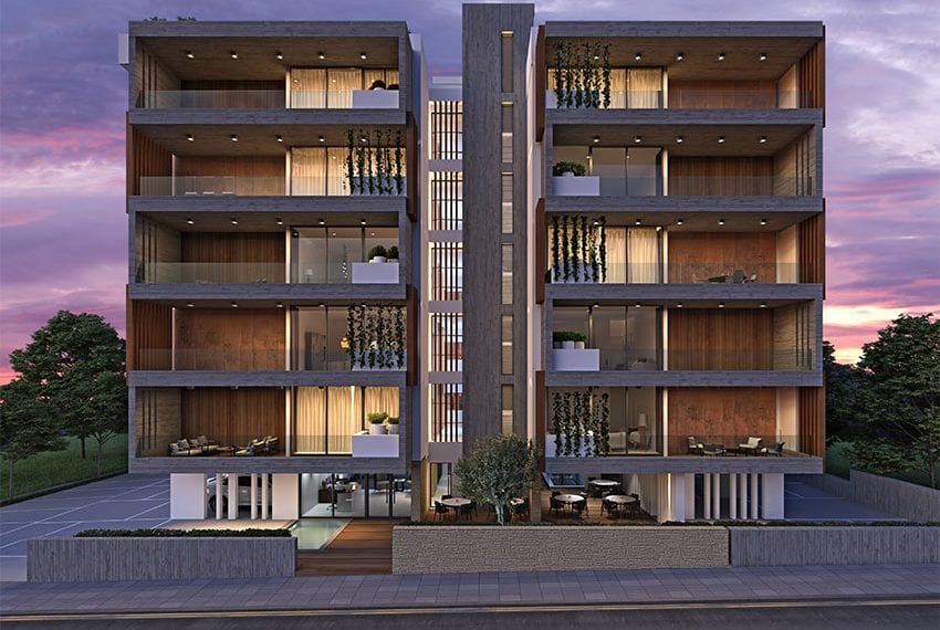 Modern apartments block for sale Pafos01