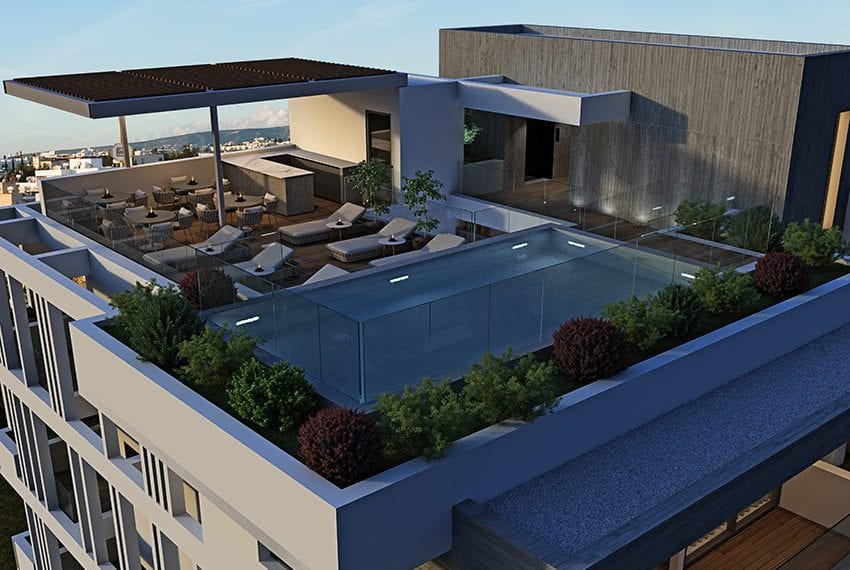Modern apartments block for sale Pafos03