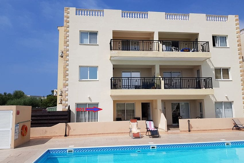 King sunset Pafos garden apartment for sale01