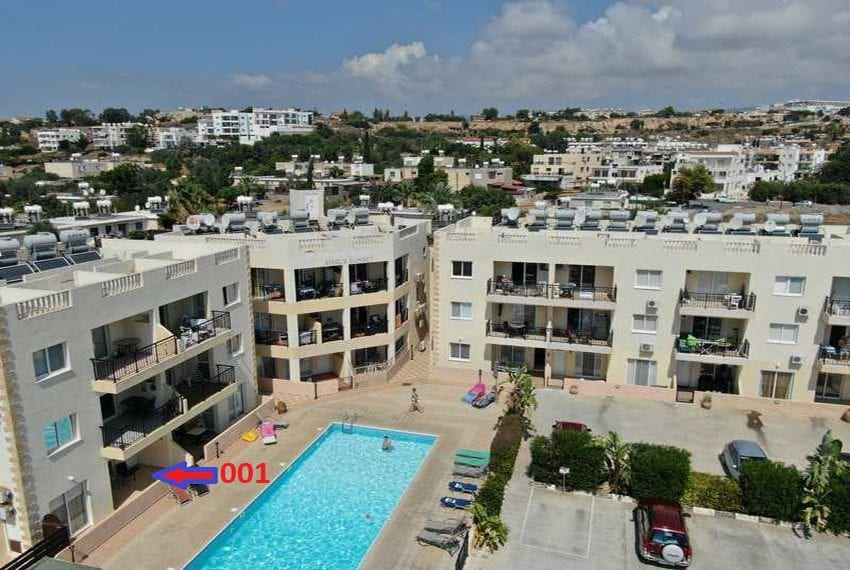 King sunset Pafos garden apartment for sale05