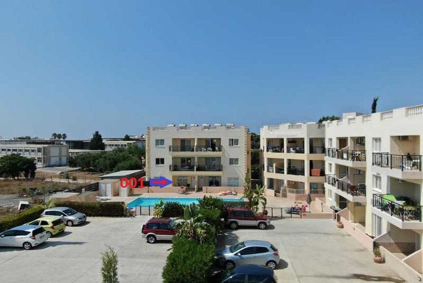 King sunset Pafos garden apartment for sale06