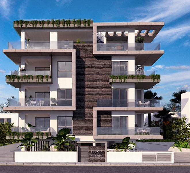 Luxe apartments for sale Limassol Neapolis seafront