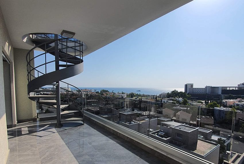 Luxury apartment for sale private roof terrace Limassol