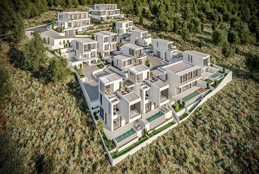 New development of villas Chloraka Pafos01