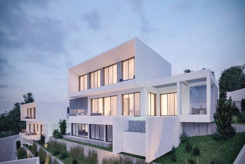 New development of villas Chloraka Pafos04