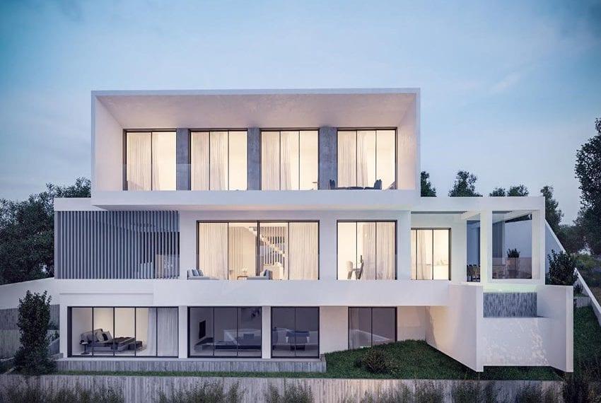 New development of villas Chloraka Pafos05