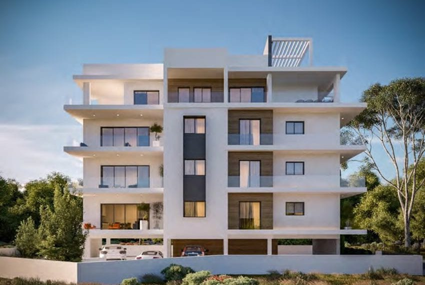 New block of apartments for sale in Universal area Pafos02