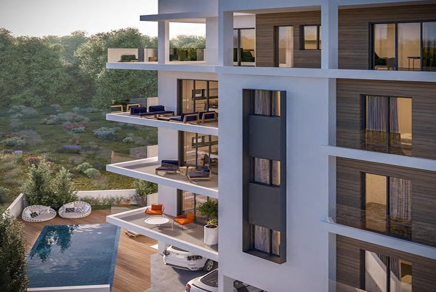 New block of apartments for sale in Universal area Pafos03