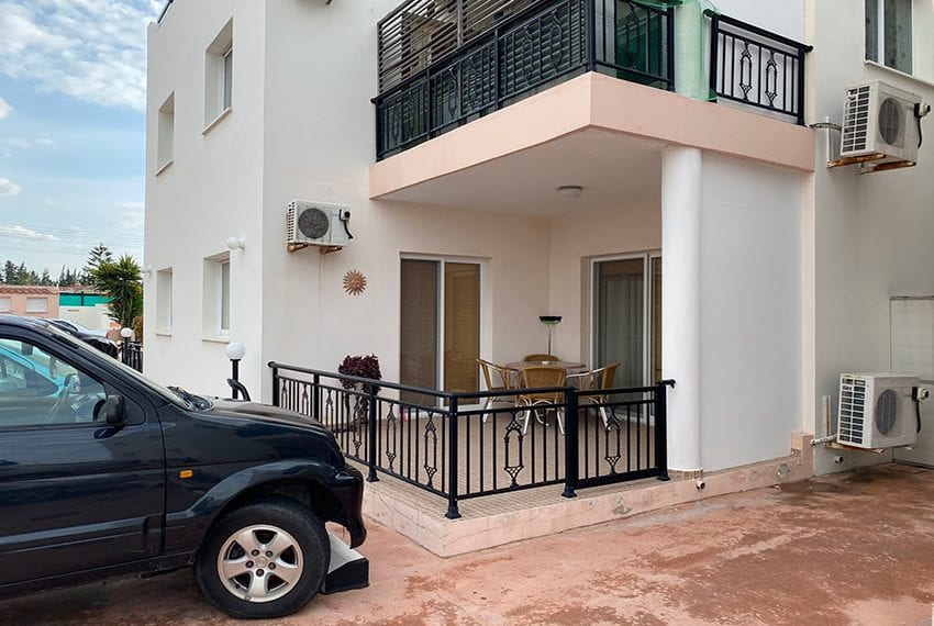 1 bed garden apartment for sale Universal Pafos02