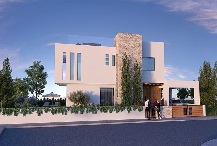 Luxury villas for sale near Paralimni marina02