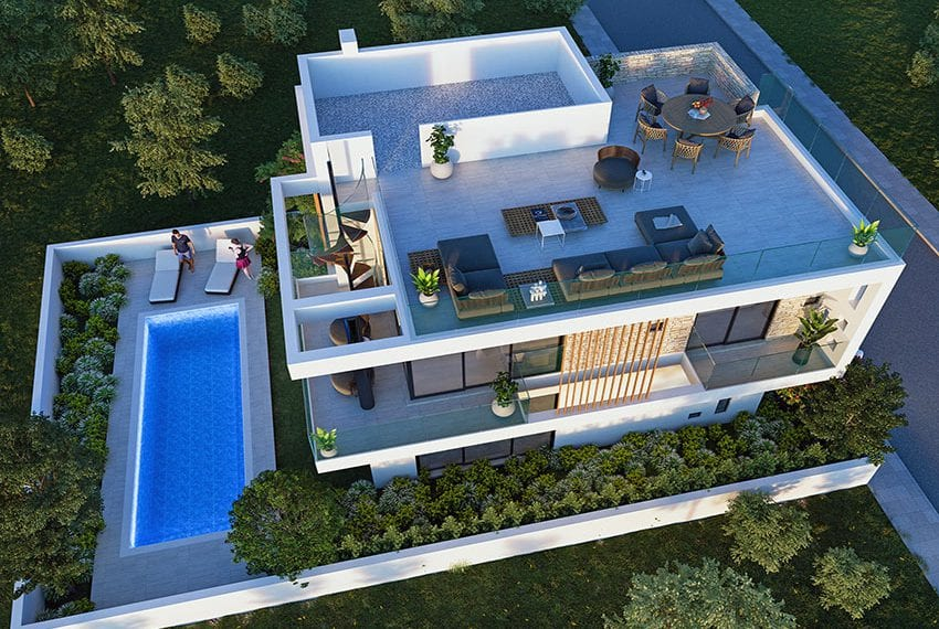 Luxury villas for sale near Paralimni marina09