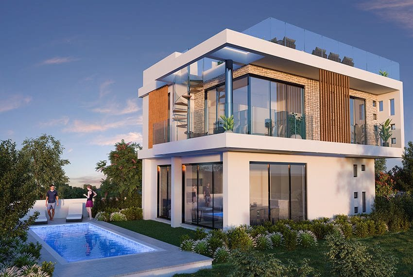 Luxury villas for sale near Paralimni marina10