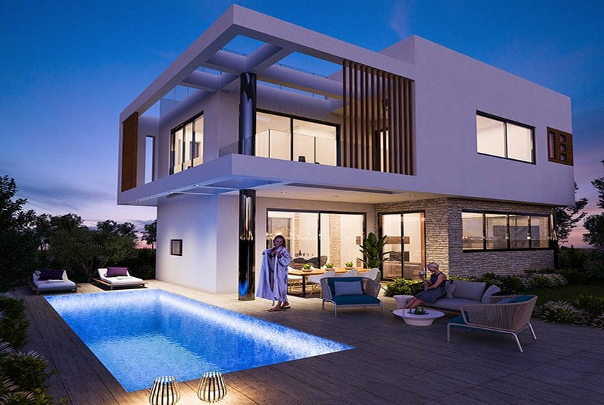 Luxury villas for sale near Paralimni marina17