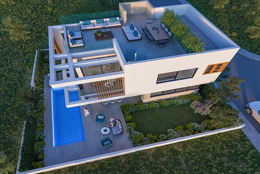 Luxury villas for sale near Paralimni marina22