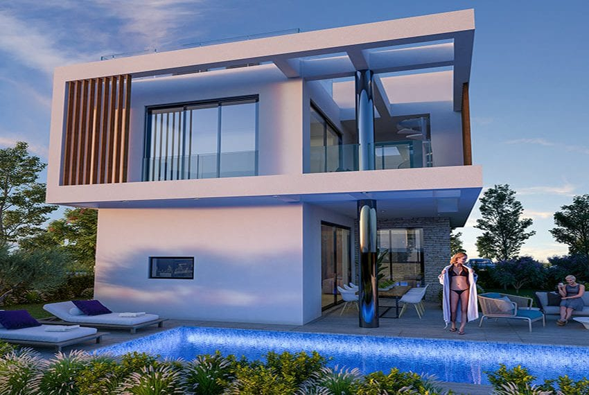 Luxury villas for sale near Paralimni marina23