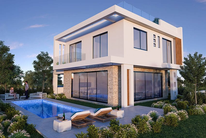 Luxury villas for sale near Paralimni marina28