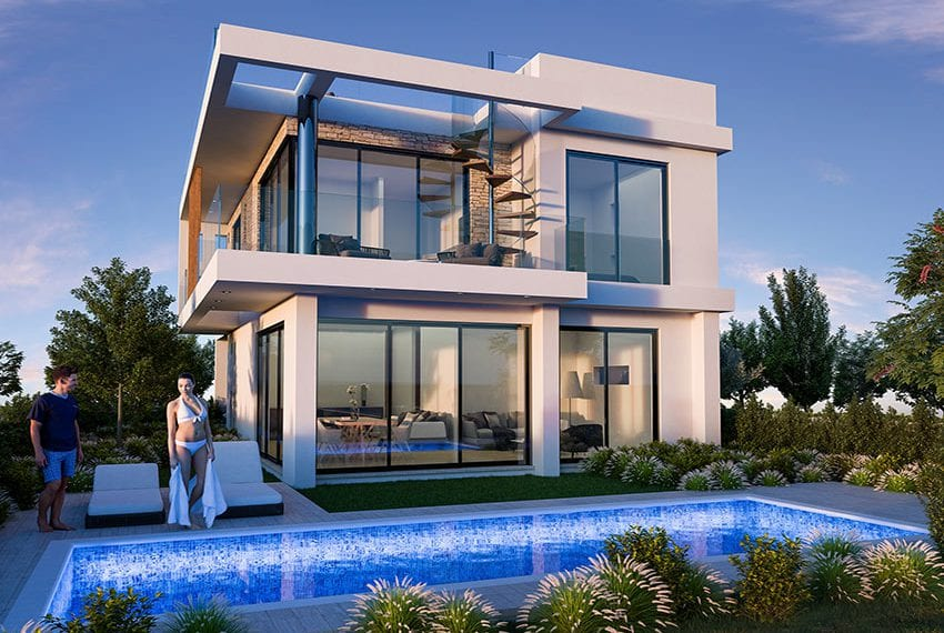 Luxury villas for sale near Paralimni marina33