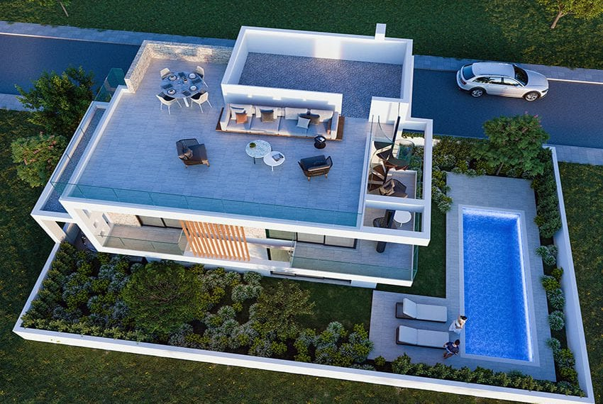 Luxury villas for sale near Paralimni marina34