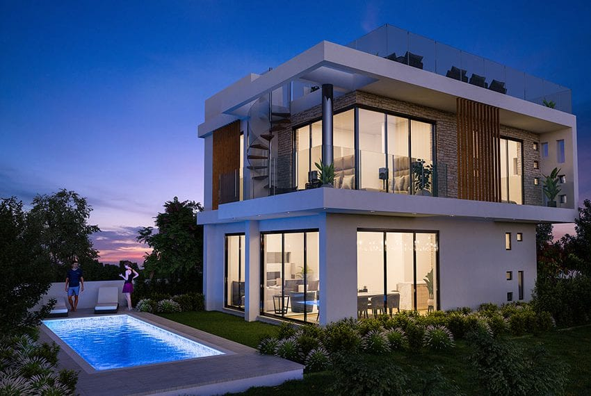 Luxury villas for sale near Paralimni marina35