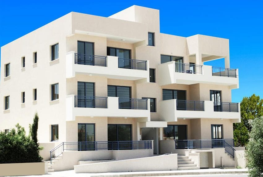 Apartment block for sale in Pafos, Yerskipou07