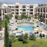 Apartment for sale in Pafos with large balcony