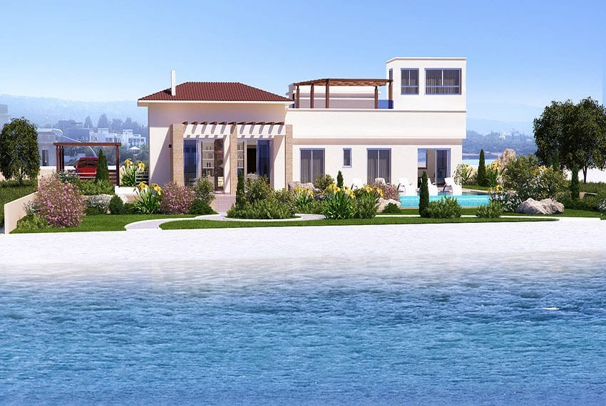 Luxury beach villas for sale in Cyprus