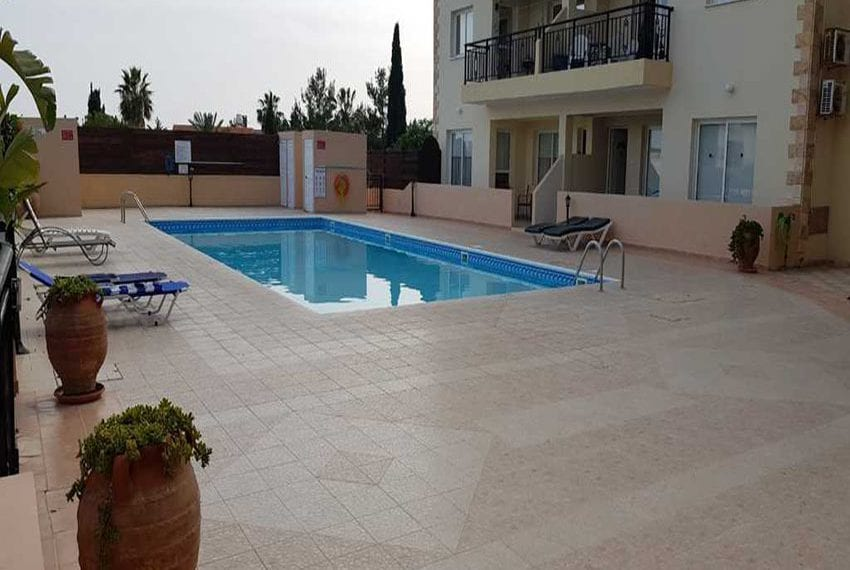 Kings Sunset Pafos ground floor apartment for sale