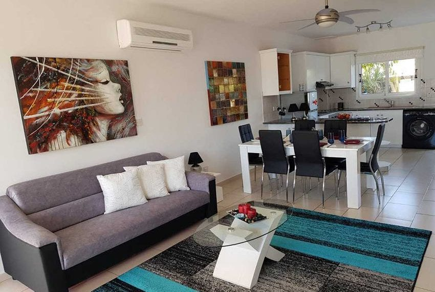 Kings Sunset Pafos ground floor apartment for sale 02