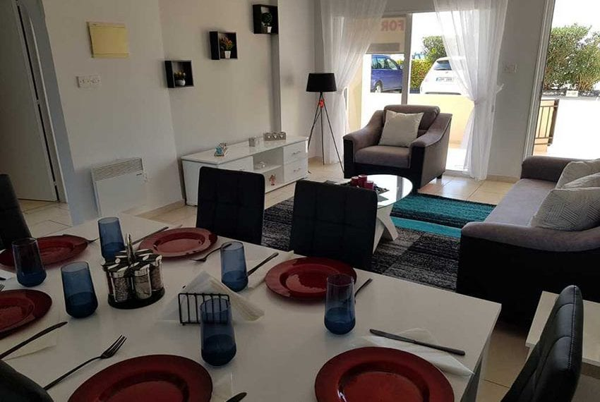Kings Sunset Pafos ground floor apartment for sale 07