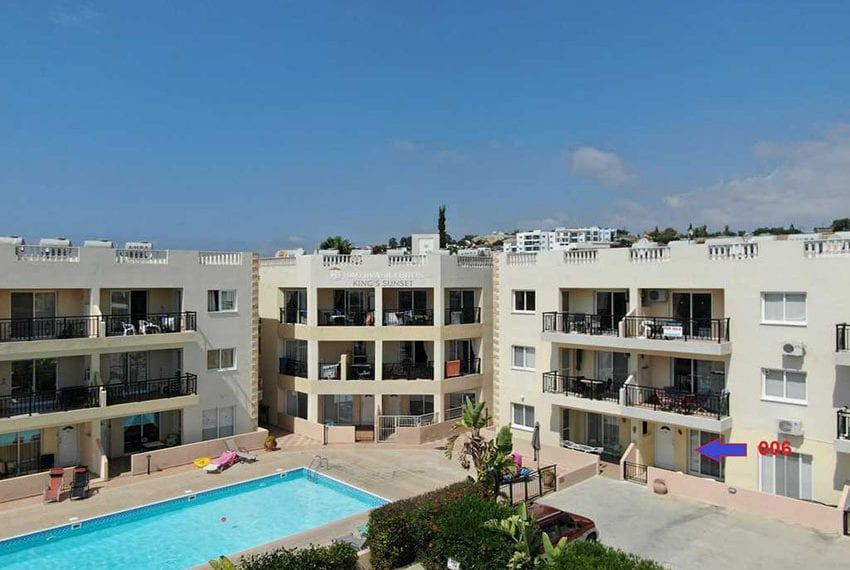 Kings Sunset Pafos ground floor apartment for sale 15