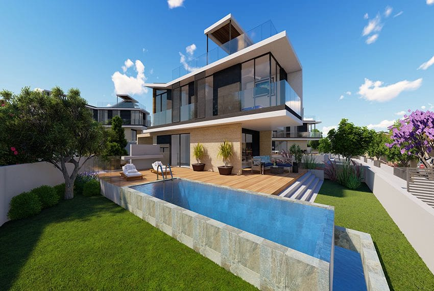 Paphos coast luxury villas for sale 01