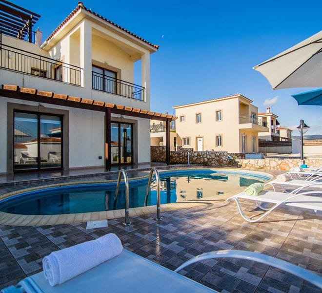 Villa with fantastic views Neo Chorio Cyprus