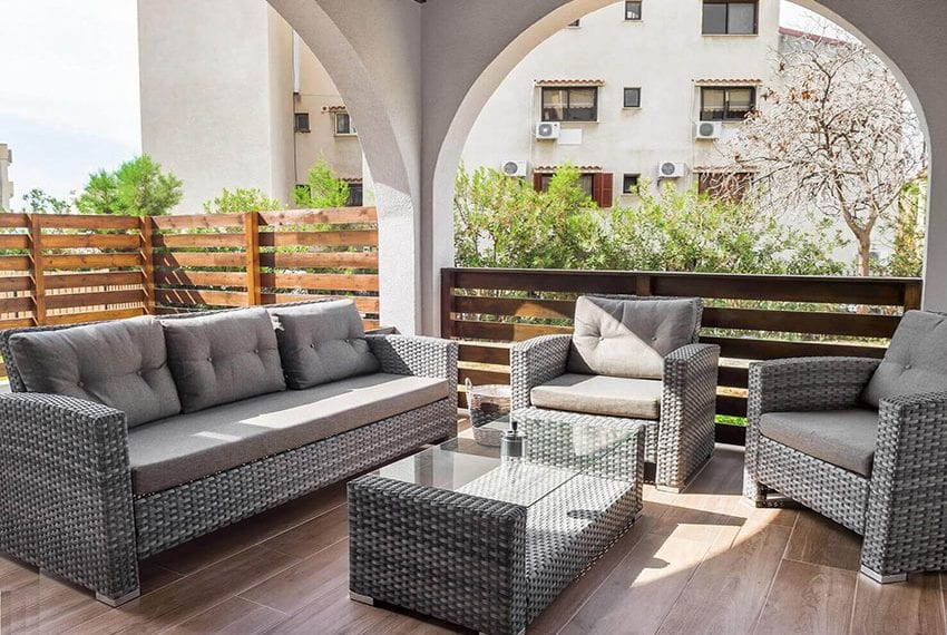 Ground floor apartment for sale Agios Tychonas