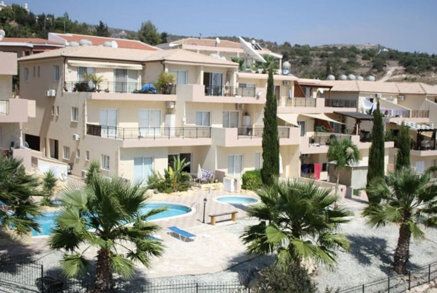 Leda heights top floor 1 bed apartment for sale Paphos
