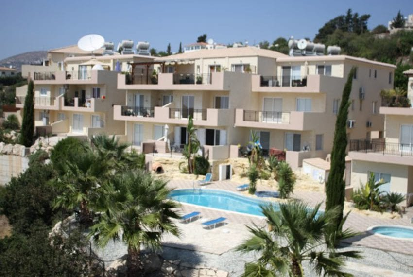 Leda heights top floor 1 bed apartment for sale Paphos01