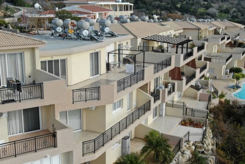 Leda heights top floor 1 bed apartment for sale Paphos05