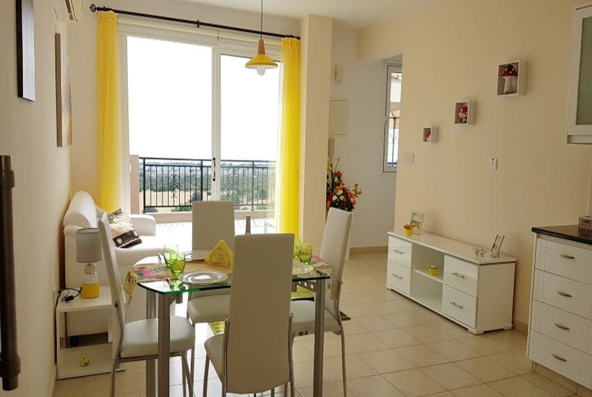 Leda heights top floor 1 bed apartment for sale Paphos16
